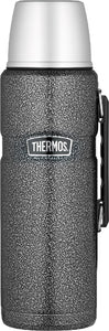 thermos king s/s vacuum flask 2l hammertone - ZoeKitchen