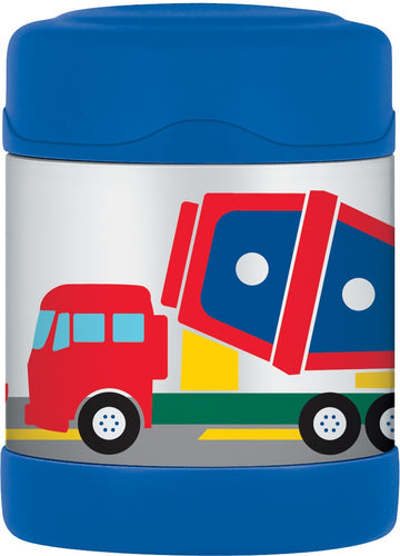 THERMOS FUNTAINER FOOD JAR 290ML CONSTRUCTION VEHICLES