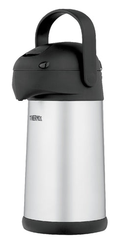 Thermos Thermocafe S/Steel Vacuum Insulated Pump Pot 2.5l - ZoeKitchen