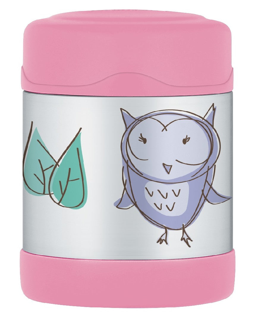 Thermos Funtainer Food Jar 290ml Owl - ZoeKitchen