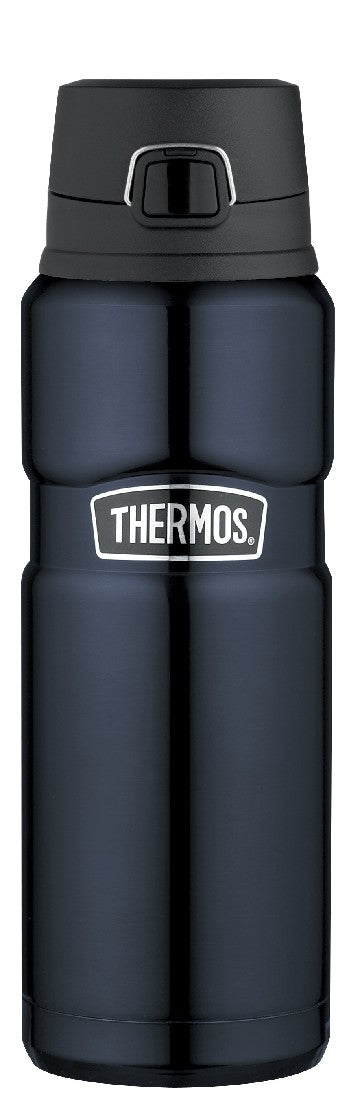 Thermos King S/S Vacuum Flask Flip Lid 710ml Mid Blue - ZoeKitchen