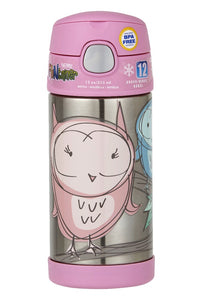 Thermos Funtainer Drink Bottle 355ml Owl - ZOES Kitchen