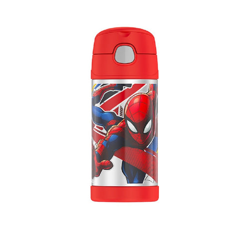 Thermos Funtainer Drink Bottle 355ml - Spider-Man - ZoeKitchen