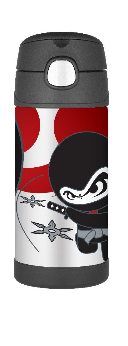 Thermos Funtainer Drink Bottle 355ml Ninja - ZoeKitchen