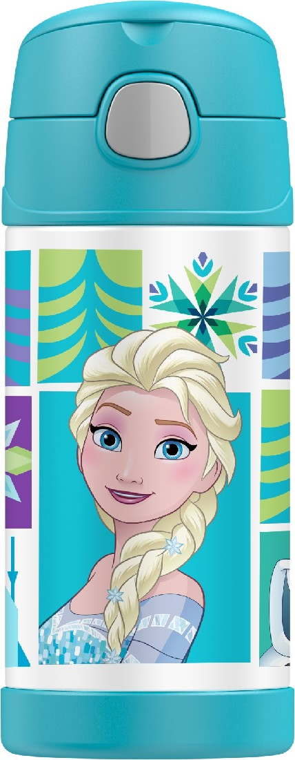 thermos funtainer drink bottle 355ml - disney frozen - ZoeKitchen