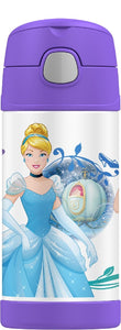 THERMOS FUNTAINER DRINK BOTTLE 335ML DISNEY PRINCESS - ZoeKitchen