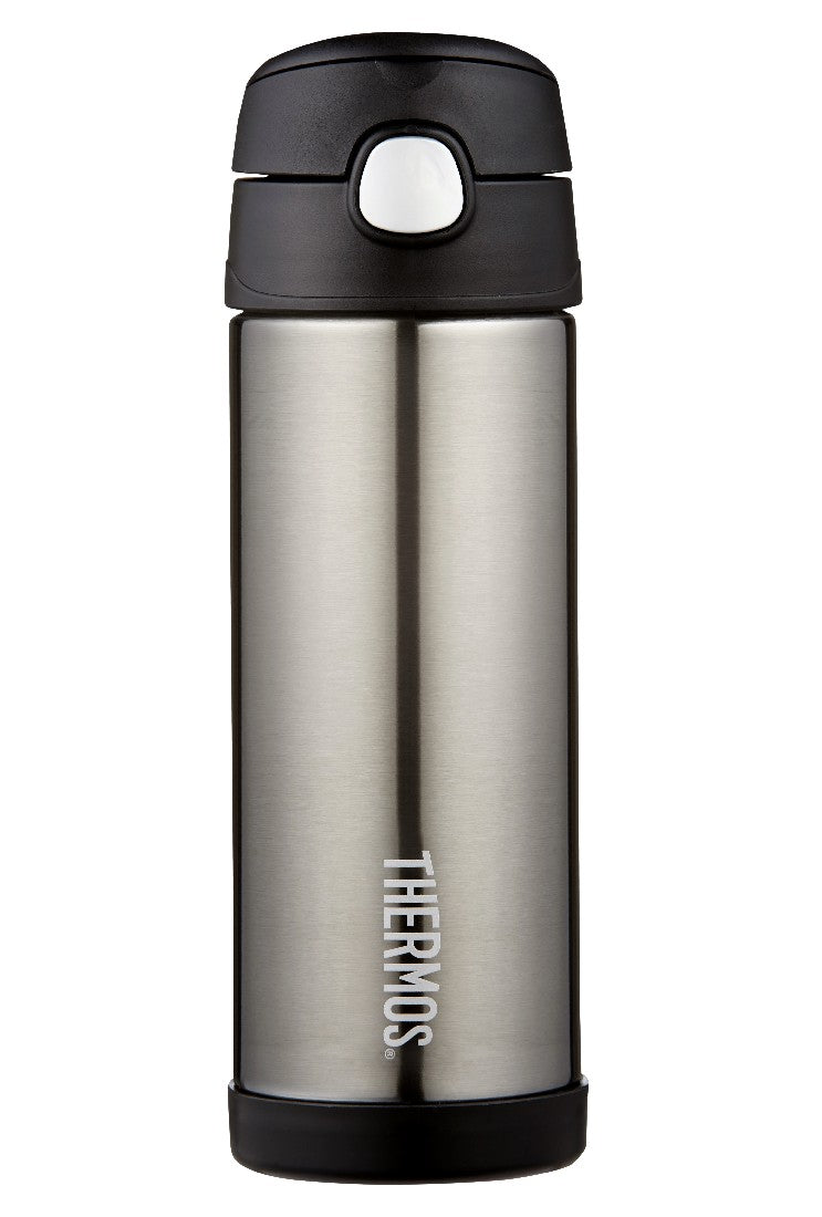 Thermos Funtainer Insulatd Drink Bottle Charcoal - ZoeKitchen