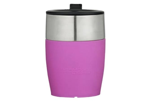 THERMOS THERMOCAFE D/WALL COFFEE CUP S/S 230ML - PINK
