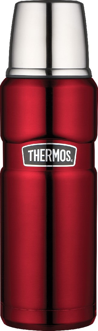 Thermos King Vacuum Flask 470ml Red - ZoeKitchen