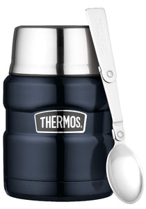 thermos 470ml s/steel king vacuum insulated food jar - ZoeKitchen