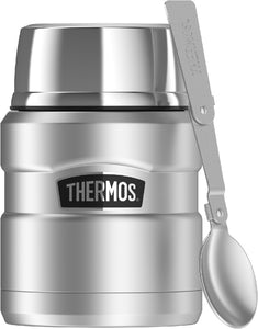 THERMOS KING STAINLESS STEEL FOOD JAR 470ML