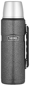 THERMOS KING S/S VACUUM FLASK 1.2L HAMMERTONE - ZoeKitchen