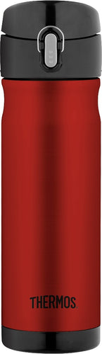 THERMOS COMMUTER BOTTLE INSULATED 470ML RED