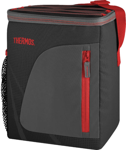 thermos radiance cooler bag 12 can black/red - ZoeKitchen