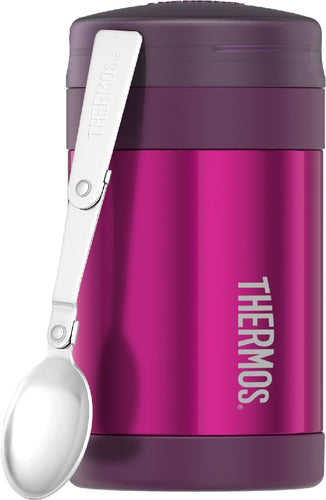 THERMOS FASHION VACUUM INSULATED FOOD JAR 470ML PINK