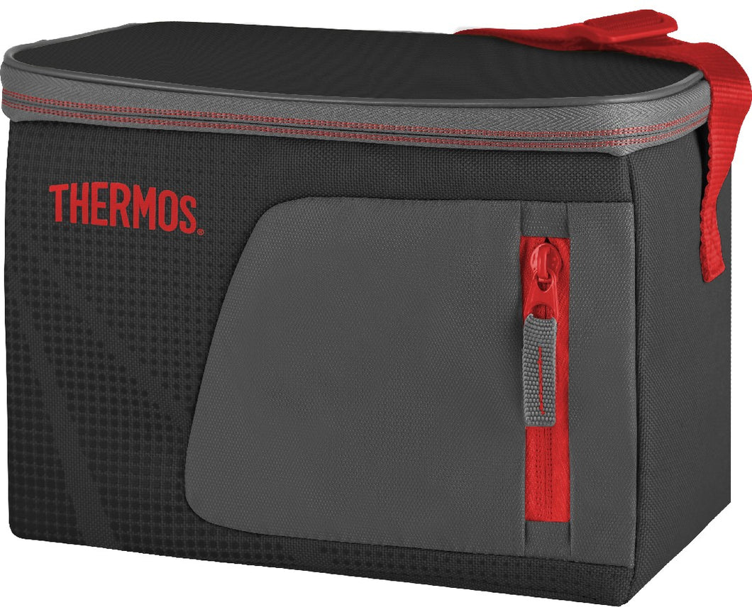Thermos Radiance Cooler Bag 6 Can Black/Red - ZOES Kitchen