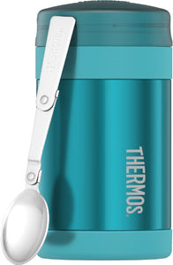 THERMOS FASHION VACUUM INSULATED FOOD JAR 470ML TEAL