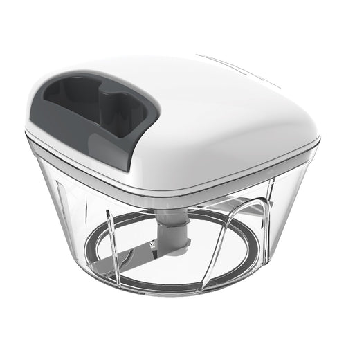 Dline Appetito Pull Chopper White/Grey - ZOES Kitchen