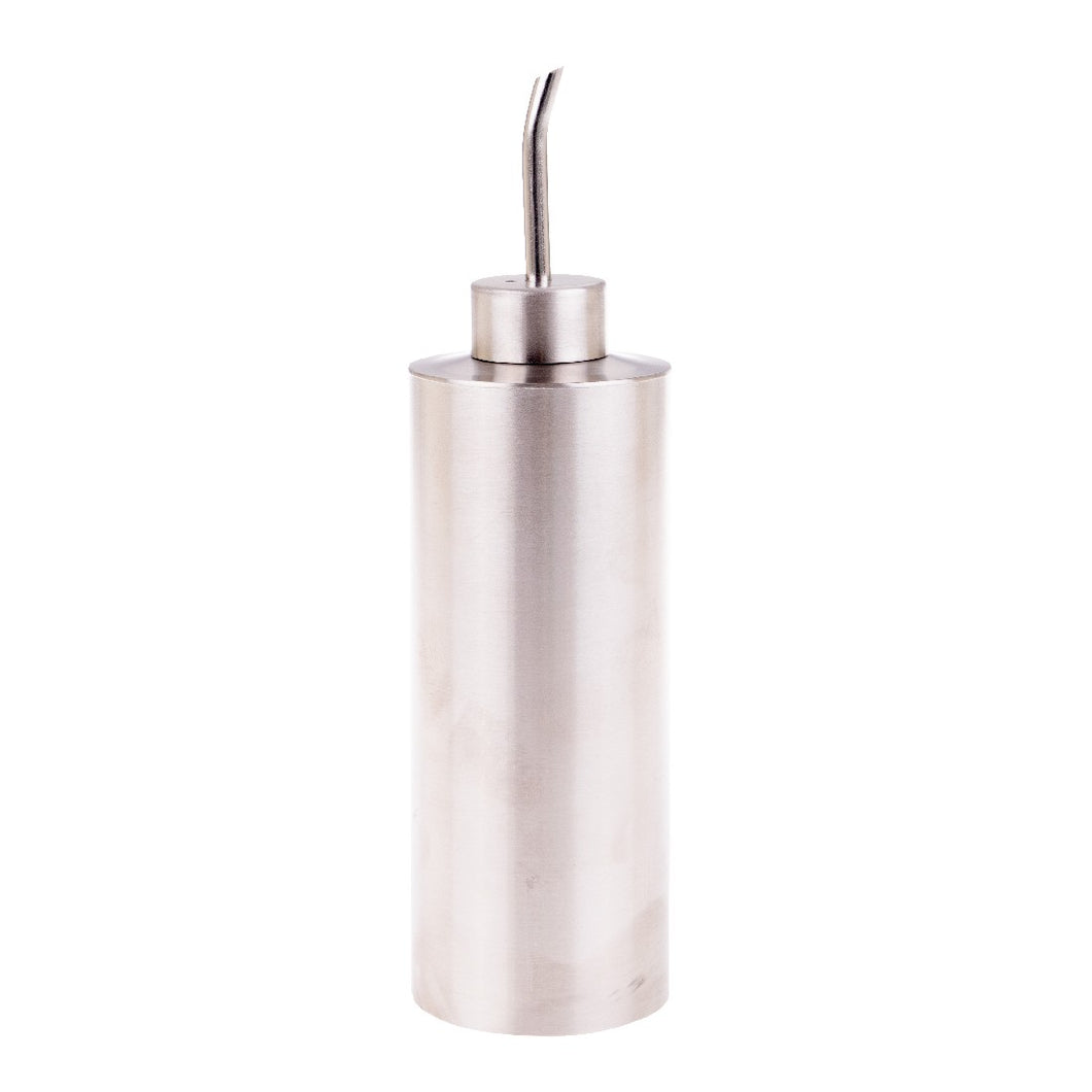Dline Appetito Cylinder Oil Can S/S Satin Finish 250ml - ZOES Kitchen