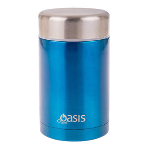OASIS INSULATED FOOD FLASK 450ML - AQUA - ZoeKitchen