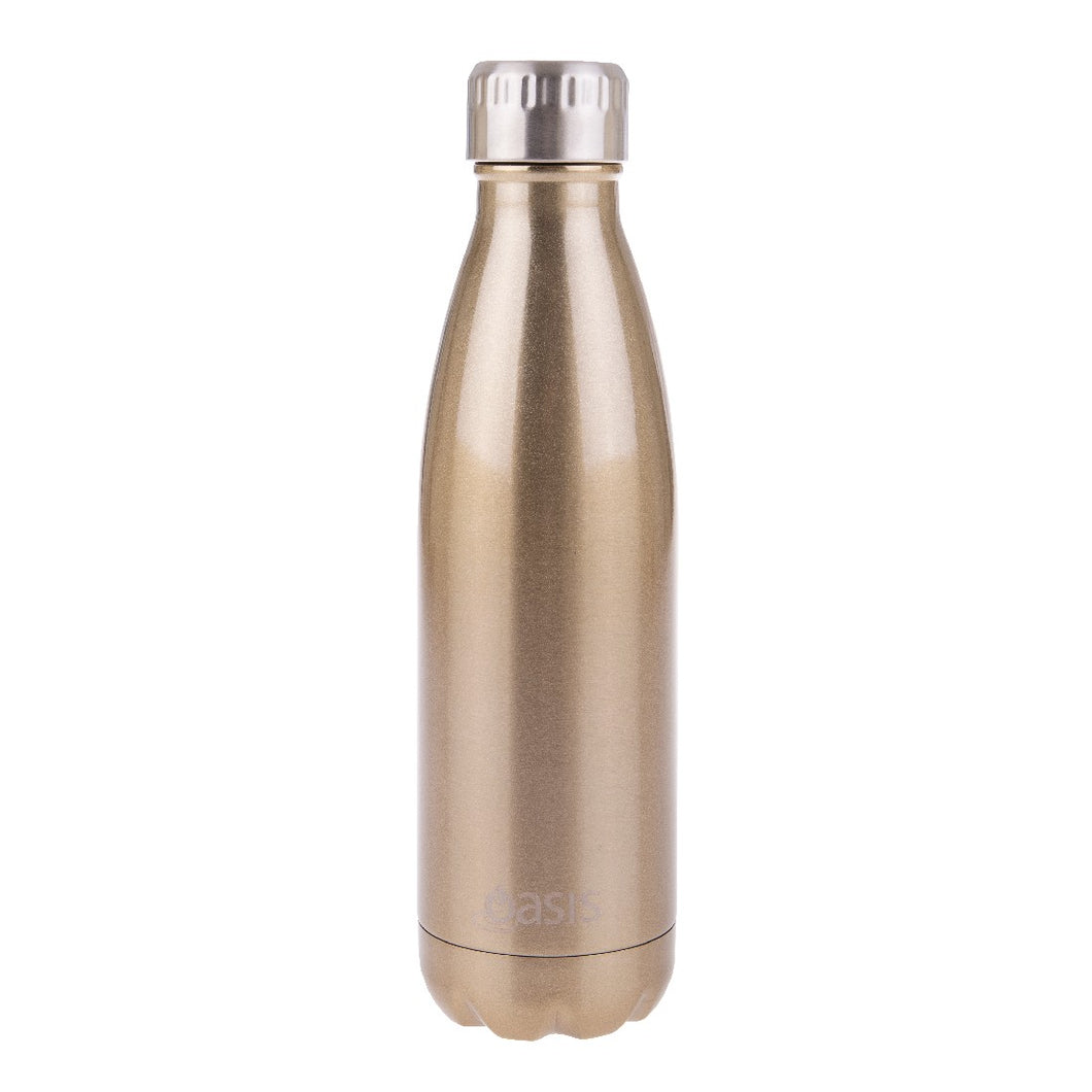 Oasis Insulated Drink Bottle 500ml - Champagne - ZOES Kitchen