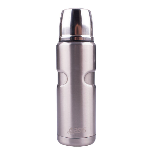 Oasis Insulated Vacuum Flask Stainless Steel 500ml - ZoeKitchen