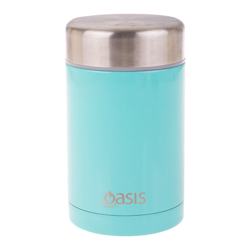 OASIS INSULATED FOOD FLASK 450ML - SPEARMINT - ZoeKitchen