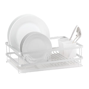 Dline Aluminium Dish Rack With Draining Tray - ZOES Kitchen