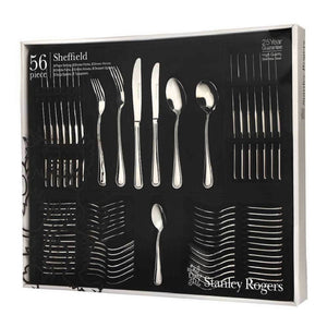 Stanley Rogers Sheffield 56 Pce Cutlery Set (C) - ZOES Kitchen