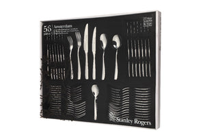 Stanley Rogers Amsterdam 56 Pce Cutlery Set - ZOES Kitchen