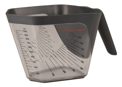Aventi Apex Measuring Cup 1l Grey - ZOES Kitchen