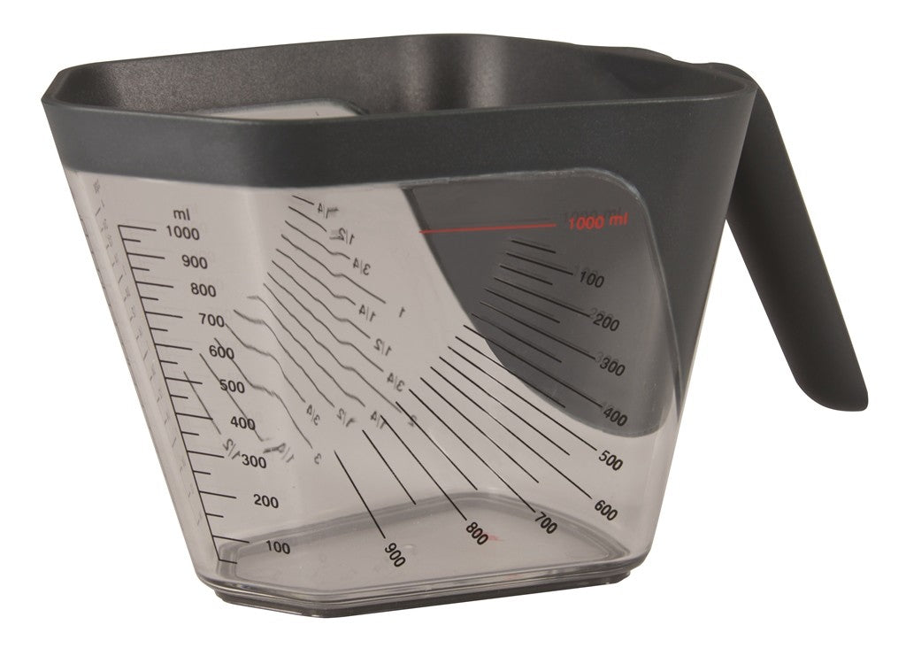 Aventi Apex Measuring Cup 1l Grey - ZoeKitchen