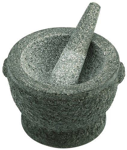 Avanti 20cm Rough Green Mortar & Pestle - ZoeKitchen