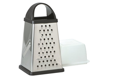 Avanti Box Grater 4 Sided W/Storage Box - ZoeKitchen
