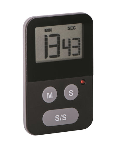 Avanti Digital Slim Timer W/Light-Black