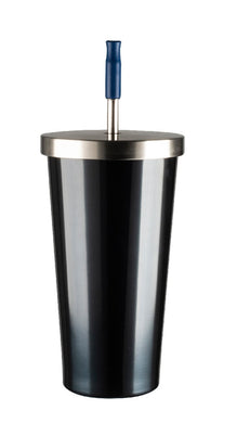 Avanti Smoothie Tumbler 500ml Steel Blue - ZOES Kitchen