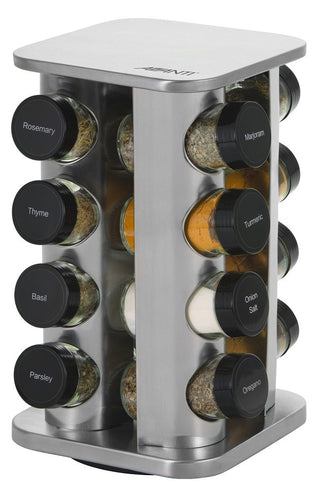 Avanti Spice Rack Revolving 16 Jar - ZOES Kitchen