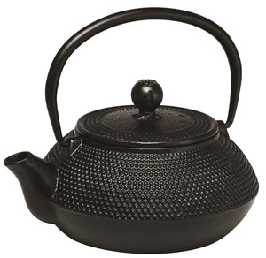 AVANTI HOBNALL CAST IRON TEAPOT 800ML BLACK - ZoeKitchen