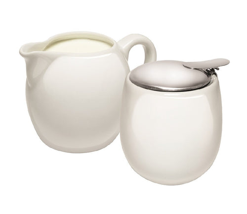 Avanti Camelia Milk & Sugar Set - White - ZOES Kitchen