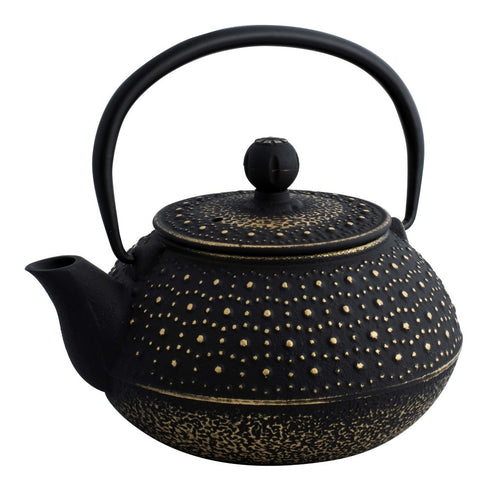 AVANTI IMPERIAL TEAPOT 800ML - BLACK/GOLD - ZoeKitchen