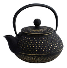 Load image into Gallery viewer, Avanti Imperial Teapot 800ml - Black/Gold - ZoeKitchen