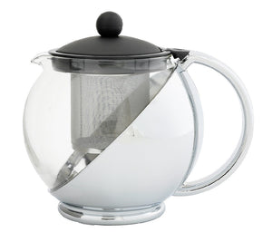 Avanti Multi Funtion Teapot 1.2L Black / Chrome - ZOES Kitchen