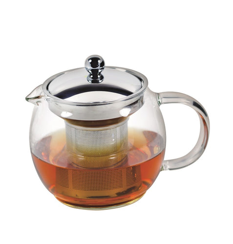 Avanti Ceylon Glass Tea Pot 750ml - ZOES Kitchen