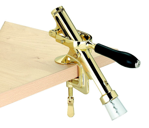 Avanti Cellar Wiz Bench Cork Extractor - Brass - ZoeKitchen