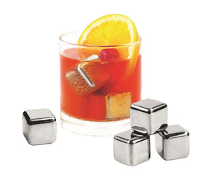 avanti s/s ice cubes set of 6 vel/pouch - ZoeKitchen