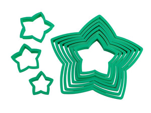Avanti Star Christmas Tree Cookie Cutter 10pce - ZOES Kitchen