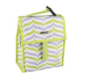 Avanti Yum Yum Lunch Cooler Bag - Green/Grey - ZoeKitchen