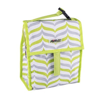 Load image into Gallery viewer, Avanti Yum Yum Lunch Cooler Bag - Green/Grey - ZoeKitchen