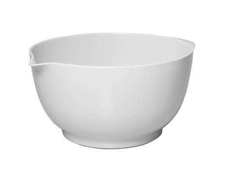 Avanti Melamine Mixing Bowl - White 3.5l - ZOES Kitchen