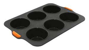 Bake Master 6 Cup Large Muffin Pan - ZOES Kitchen